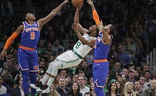 Les Celtics face aux Knicks