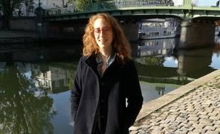 Margot Medkour, 28 ans, est la tête de liste du collectif citoyen, écologiste et participatif Nantes en Commun.