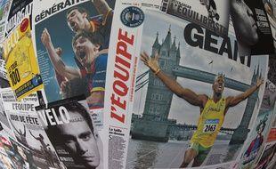 La SAS L'Equipe regroupe plusieurs titres de presse.