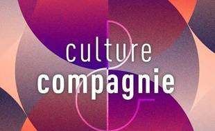 Détail du visuel créé par France Culture pour la radio Culture et Compagnie.