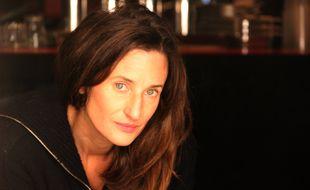 L'actrice Camille Cottin sur le tournage de la série «H 24, 24h de la vie d'une femme».