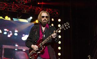 Le chanteur et guitariste Tom Petty le 17 septembre 2017 à un festival à San Diego, en Californie.