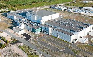 Le site qui accueillera les premiers essais du laser Mégajoule, au Barp près de Bordeaux