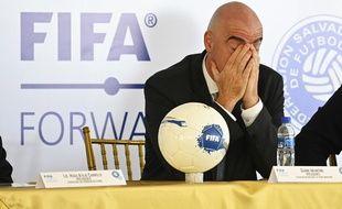 Gianni Infantino, le boss de la Fifa.