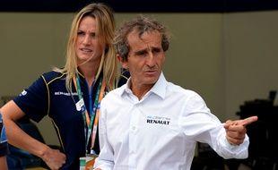 Alain Prost en septembre 2014 en Chine.
