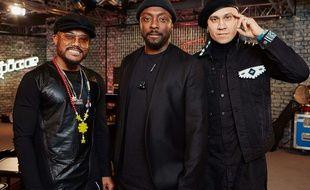 Les membres de Black Eyed Peas en février 2018