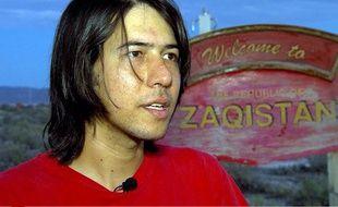 Zaq Landsberg, créateur du Zaqistan, le 29 juin 2013.