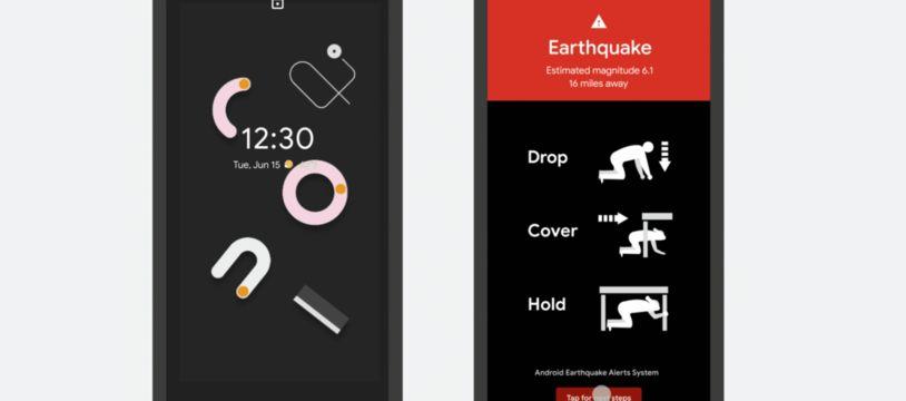 Google déploie son système d'alerte aux tremblements de terre
