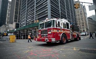 Pompiers américains, photo d'illustration.