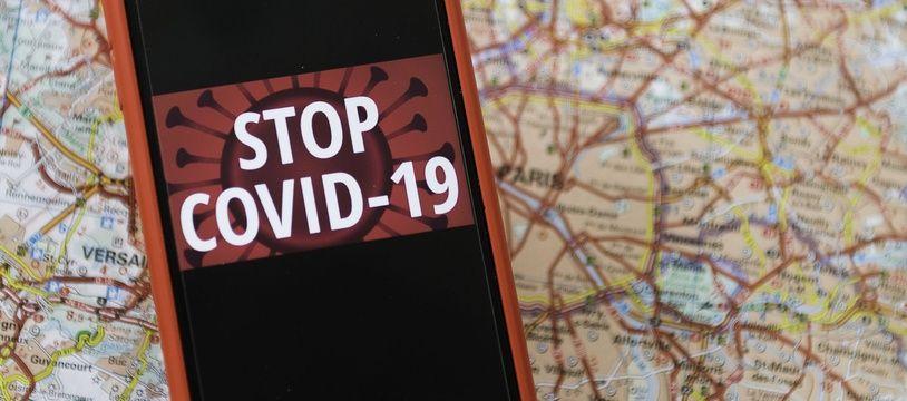 L'appli de tracking numérique StopCovid.