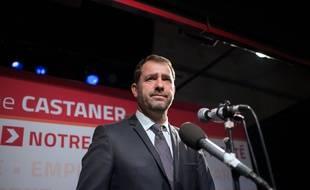 Christophe Castaner, le président de l'Union de la Gauche à laconférence régionale.