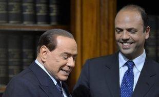 L'ex-ministre de la Justice Angelino Alfano, présenté comme le dauphin de Silvio Berlusconi, a estimé dimanche que son mentor était le mieux placé pour remporter les élections prévues au printemps 2013, lors d'une rencontre politique à Sorrente, près de Naples.