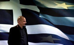 Le ministre grec des Finances, Yanis Varoufakis, à Athènes, le 28 janvier 2015