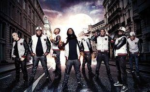Le groupe de rappeurs Sexion d'Assaut.