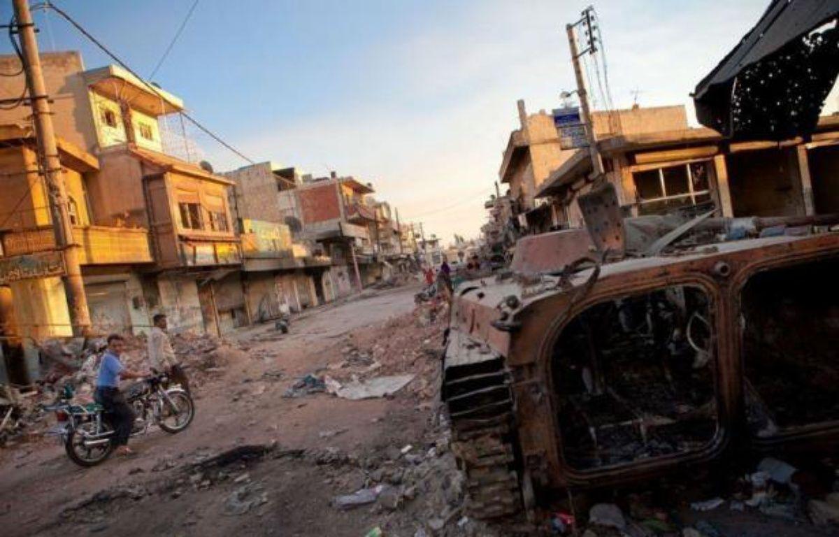 """L'émissaire de l'ONU et de la Ligue arabe Kofi Annan, auteur d'un plan de sortie de crise resté jusqu'ici lettre morte, a jugé mardi """"impératif"""" d'avoir un cessez-le-feu en Syrie afin de procéder à une transition politique. –  afp.com"""
