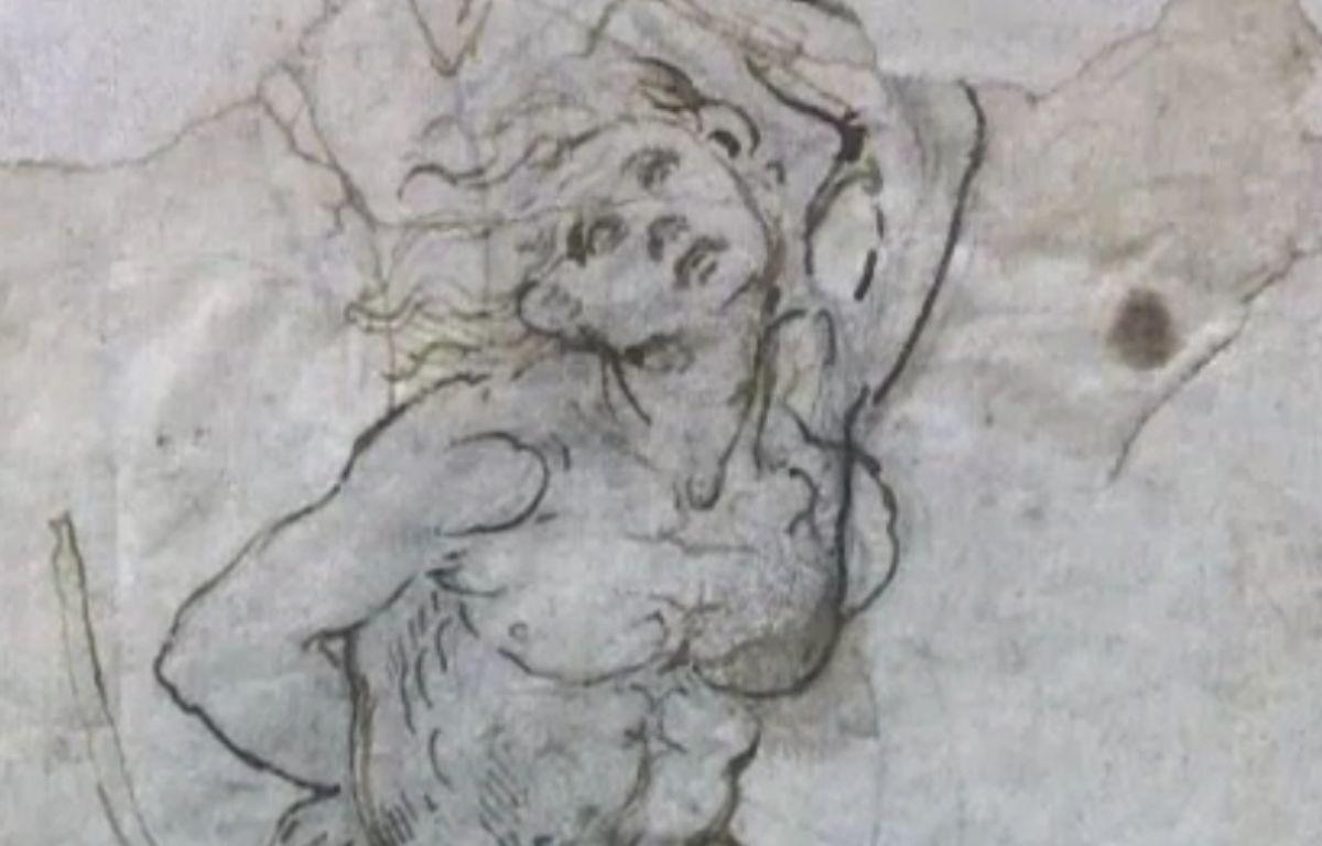 Quinze millions d'euros pour une étude de Léonard de Vinci sur le martyre de Saint Sébastien. C'est la somme que doit trouver le Louvre pour ajouter à ses collections ce chef-d'oeuvre discrètement classée trésor national fin décembre 2016.  – Capture d'écran / Dailymotion