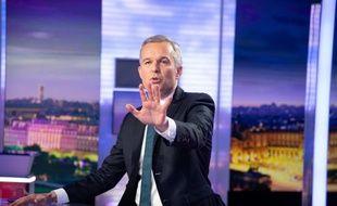 François de Rugy sur le plateau de France 2, en juillet. (archives)