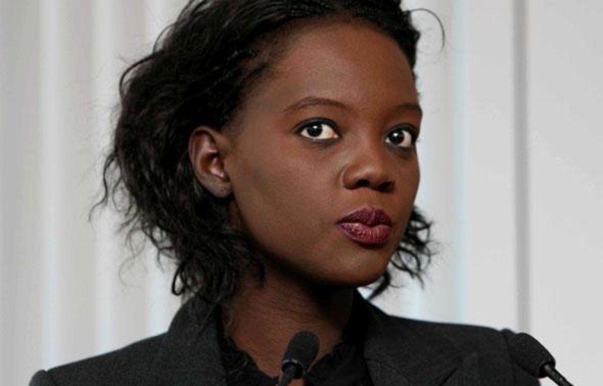 Rama Yade, la Secrétaire d'Etat aux sports, le 10 mars 2010 à Paris. – I.SIMON/SIPA