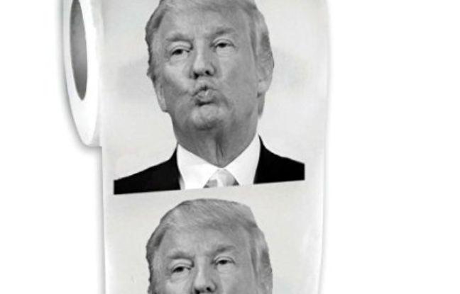 Le papier toilette Trump