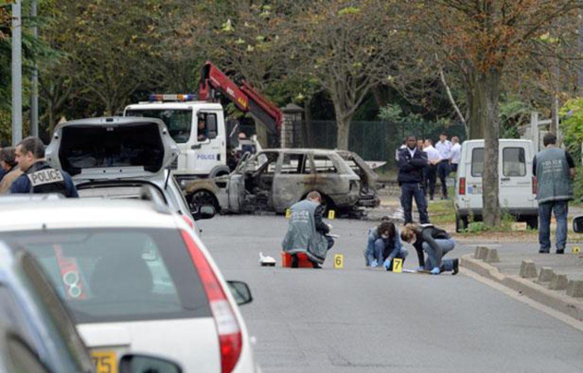 Une attaque à l'explosif a fait un mort et deux blessés à Orly-Ville, le 21 septembre 2011. – ALEXANDRE GELEBART / 20 MINUTES