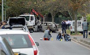 Une attaque à l'explosif a fait un mort et deux blessés à Orly-Ville, le 21 septembre 2011.