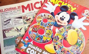 «Le journal de Mickey» a fêté ses 80 ans en 2014.
