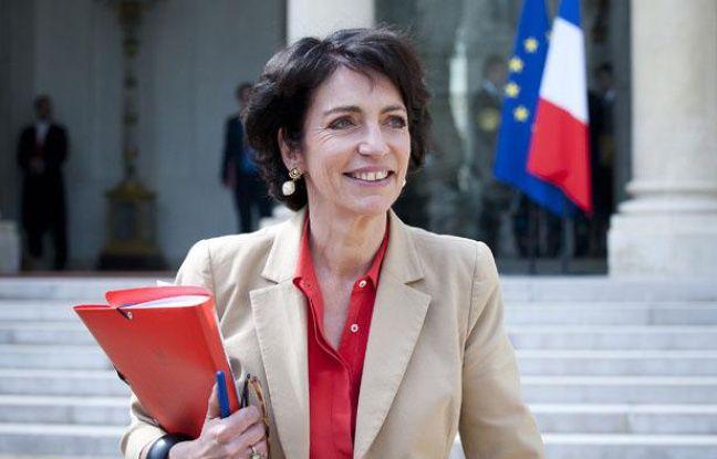 Marisol Touraine à la sortie du conseil des ministres, le 23 mai 2012.