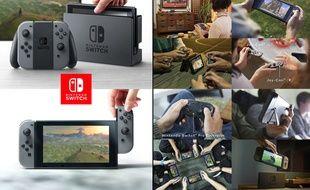 La Nintendo Switch sera lancée en mars 2017.