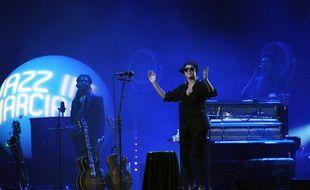 Melody Gardot lors de l'édition 2015 de Jazz in Marciac.