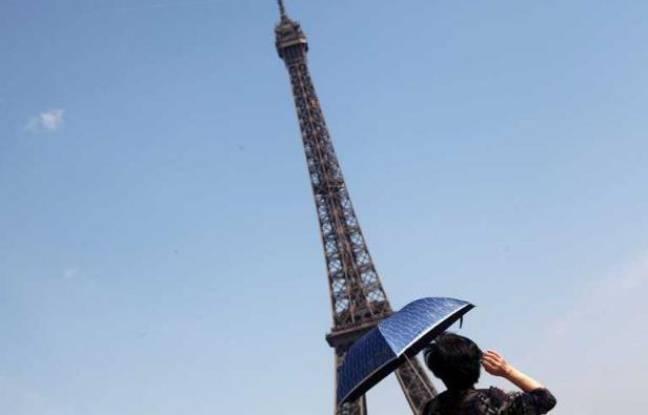La Tour Eiffel, le 27 mai 2012.