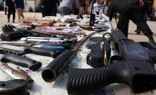 Une saisie d'armes (image d'illustration).