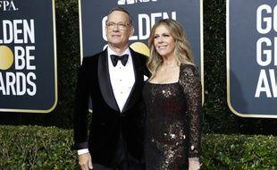 L'acteur Tom Hanks et sa femme, Rita Wilson