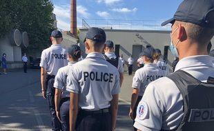 Des policiers nationaux supplémentaires sont arrivés à Nantes, ce mardi