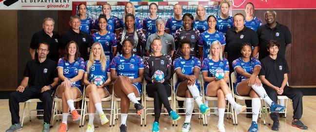 L'équipe 2019/2020 du Mérignac Handball.