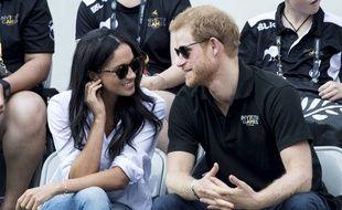 L'actrice Meghan Markle et le prince Harry