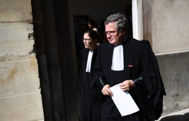 Versailles, le 23 septembre 2016. Jean Veil, l'avocat de la Société Générale.