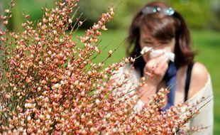 Les pollens sont de sortie avec le redoux des températures (image d'illustration).