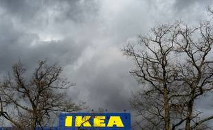 Photographie prise le 30 mars 2016 du plus grand magasin Ikea d'Europe situé en Suède. (image d'illustration)