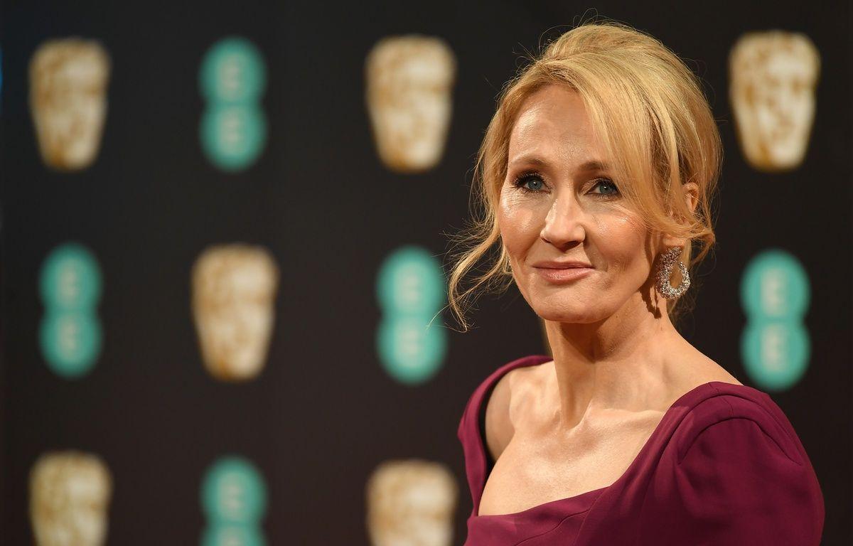 J.K. Rowling, à la cérémonie des Bafta, à Londres, en février 2017. – Justin TALLIS / AFP