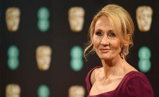 J.K. Rowling, à la cérémonie des Bafta, à Londres, en février 2017.