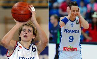 Les deux basketteuses ont joué ensemble à Bourges et en équipe de France