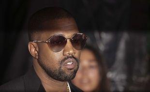 Le rappeur Kanye West le 7 septembre 2018 à New York.