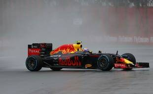 Max Verstappen au Grand Prix du Brésil le 13 novembre 2016.