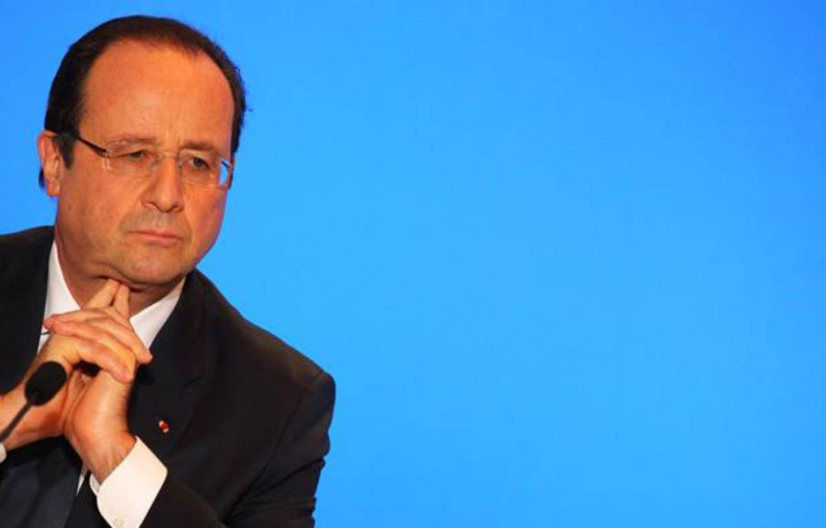 François Hollande à Toulouse, le 9 janvier 2014. – FRED SCHEIBER/20 MINUTES