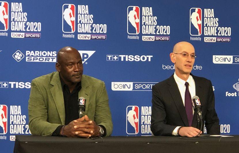 « Les restaurants étaient excellents », Michael Jordan et la NBA ont passé du bon temps à Paris
