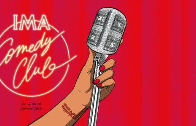 Visuel officiel du festival IMA Comedy Club
