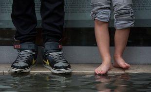 Des pluies diluviennes se sont abattues à Nantes (image d'illustration)