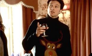 Le pull moche de Noël porté par Colin Firth dans «Le Journal de Bridget Jones».