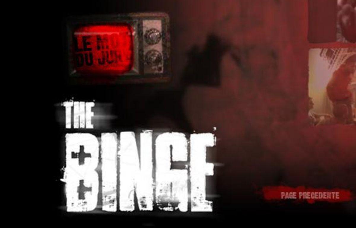 Capture d'écran du site dédié au concours de vidéos contre le binge drinking. – DR