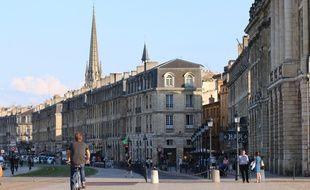 Bordeaux. Les quais.